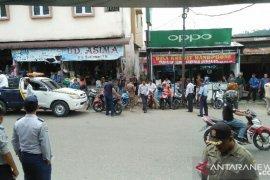 Dishub dan Satpol PP tertibkan parkir liar di  Gunungsitoli