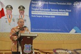 Bupati Tanjabbar mengajak warga sukseskan Sensus Penduduk 2020