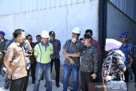Bupati Bangka pantau operasional penanganan limbah PT BAA