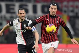 Hasil pertandingan semifinal leg pertama Coppa Italia Juve vs Milan