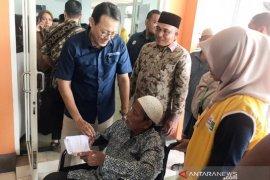 Dirut BPJS Kesehatan pastikan pelayanan kesehatan maksimal di Aceh