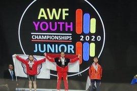 Lifter Indonesia panen medali di Kejuaraan Asia Remaja dan Junior