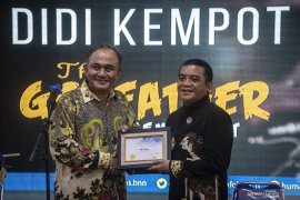 BNN kukuhkan Didi Kempot sebagai relawan antinarkoba