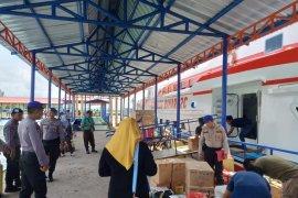 Polisi perketat pengawasan bongkar muat barang di Pelabuhan Muntok