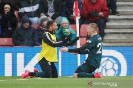 Burnley amankan tiga poin di kandang Southampton