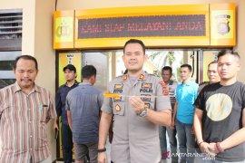Polisi Jambi amankan sopir dan kernet ekspedisi penganiaya petugas Dishub