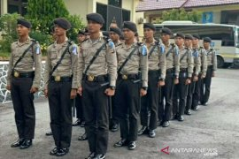 Puluhan Siswa SPN Polda Babel laksanakan latihan kerja