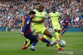 Barcelona susah payah atasi Getafe 2-1