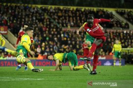 Mane bawa Liverpool menang di kandang Norwich