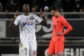 Liga Prancis, PSG balikkan ketinggalan tiga gol tapi ditahan imbang Amiens 4-4