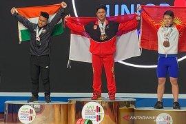 Muhammad Faathir kembali pecahkan rekor dunia remaja di Tashkent, Uzbekistan