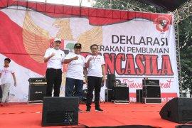 Wagub Jabar deklarasikan Gerakan Pembumian Pancasila do Bandung