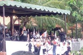 Ahmad Dhani konser meriahkan HUT Ke-12 DPD Gerindra