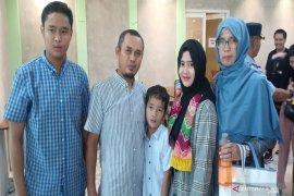 Doa Nur Taibah terkabul setelah anaknya kembali dari Tiongkok