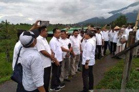 Cari inspirasi baru, Bupati Banyuwangi ajak pejabat ke wisata Jatiluwih Bali (Video)