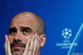 Guardiola akan bertahan meski City tidak  bermain di Liga Champions