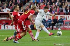 Liga Jerman, Kemenangan atas Koln bawa Bayern puncaki klasemen
