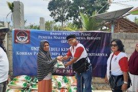 PMIB berbagi dengan pengungsi gempa dua kabupaten di Maluku