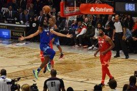 NBA All Star, tim LeBron menang atas tim Giannis