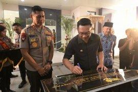 Ridwan Kamil resmikan gedung baru Ditlantas Polda Jabar