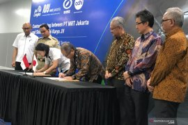 MRT tandatangani kontrak MRT Fase 2A dengan Shimizu-Adhi Karya