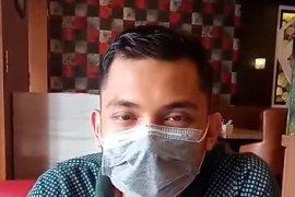 Pria dalam video hoax tentang virus corona di Medan minta maaf
