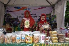 Pameran produk UMKM meriahkan MTQ XXVIII di Taman Alun Kapuas