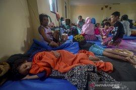 Pengungsi banjir Kabupaten Bandung