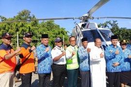 Helikopter  BNPB resmi beroperasi di Manggarai Barat