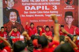 Risma ajak anak muda Surabaya gabung PDIP