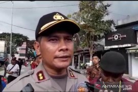 Kapolresta: Empat motor dibakar saat bentrokan suporter Persebaya-Arema