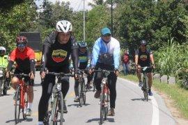 Pangdam I/BB jajal rute Gowes Ranah Minang sejauh 104 Km