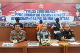 Polda Maluku Utara  tangkap mahasiswa pengedar narkoba
