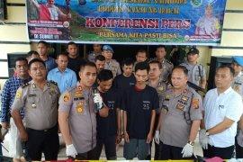 Polres Tanjung Balai sita sabu dan ekstasi asal Malaysia