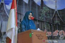 Dewi Sutan Riska temu ramah dengan kader Dasawisma Kecamatan Pulau Punjung