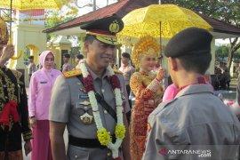 Kapolda Aceh disambut salawat badar