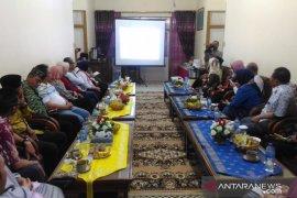 Kunjungi Kabupaten Sambas, Hasto audiensi ke Bupati