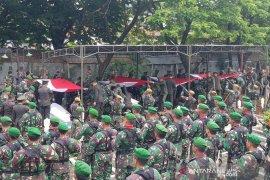 Pangdam Diponegoro pimpin pemakaman prajurit korban kecelakaan MI-17