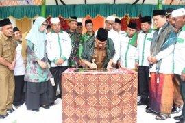 Bupati Deliserang resmikan Ponpes Nahdlatul Ulama  Al-Qomariah