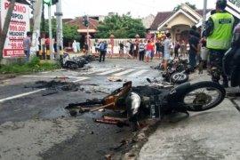 Polisi mendata korban kerusuhan suporter di Blitar