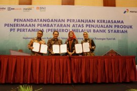 Pertamina gandeng sejumlah bank syariah untuk pembayaran produk di Aceh