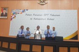 Tingkat kepatuhan wajib pajak di Kabupaten Bekasi catat 55 persen