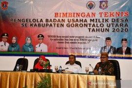 Pemkab Gorontalo Utara dorong pelibatan masyarakat kelola BUMDes