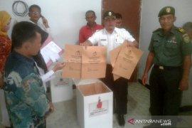 Surat suara Pilkades Rejang Lebong dititipkan di kantor polisi