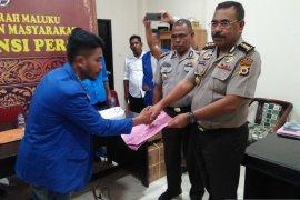 PMII Kota Ambon silahkan lapor oknum Polri lakukan pemukulan
