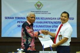 BPK Sumut terima LKPD Kabupaten Asahan