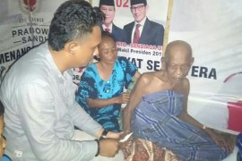 Petinggi Partai Aceh jenguk Pawang Chari, sahabat Wali Hasan Tiro