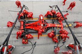 Formula 1 tes pramusim di Barcelona