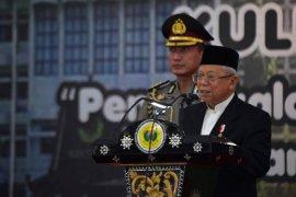 Wapres Ma'ruf Amin jelaskan lima kategori pelaku radikal dan teror