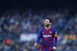 """Tepis rumor kepindahan,  Messi bilang """"Barcelona rumah saya"""""""